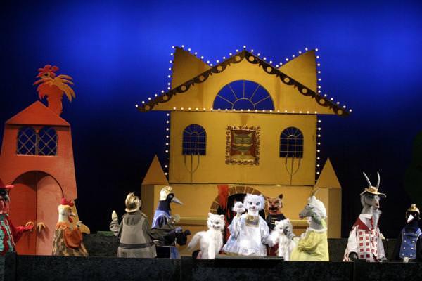 Кошкин дом кукольный театр своими руками 61